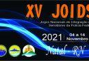 Lançamento da logomarca dos XV JOIDS
