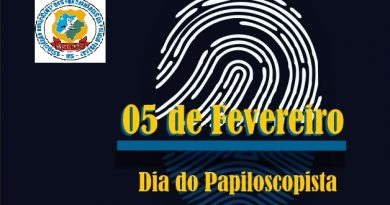 DIA DO PAPILOSCOPISTA